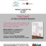 """Presentazione del libro: """"Figli Fragili"""" di Stefano Benzoni"""