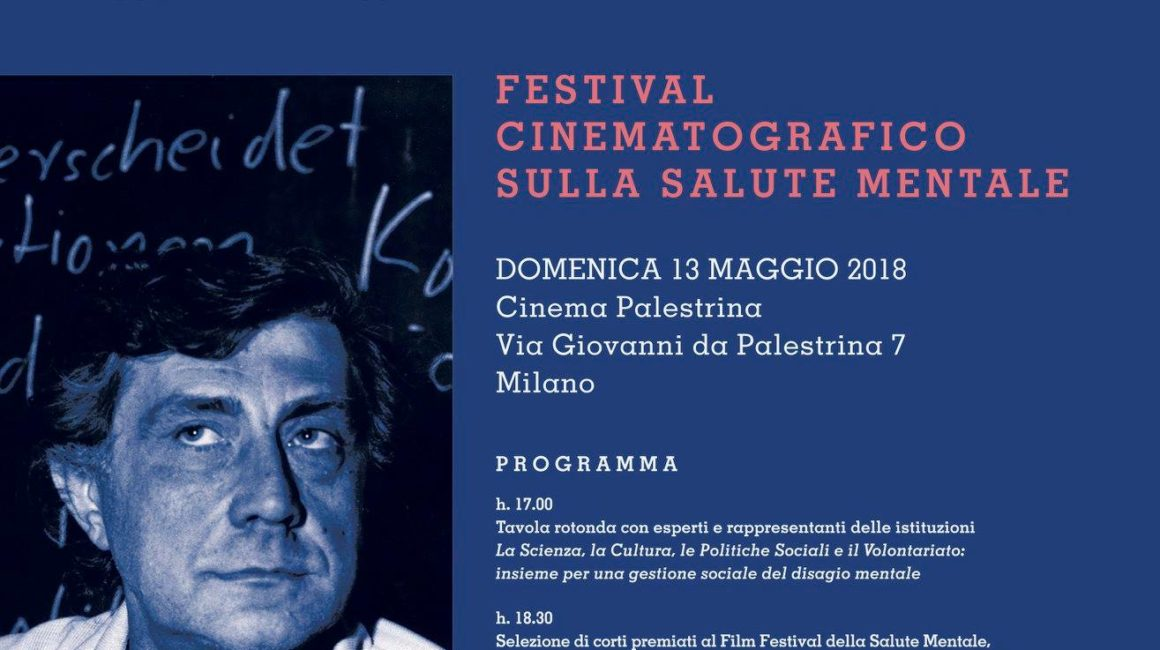 Festival cinematografico sulla Salute Mentale – domenica 13 maggio 2018