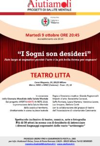 Locandina evento teatrale